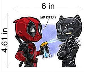 Bad Kitty Sticker