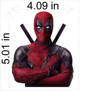 Deadpool Arms Crossed Sticker