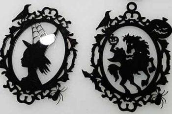laser engraved ornaments