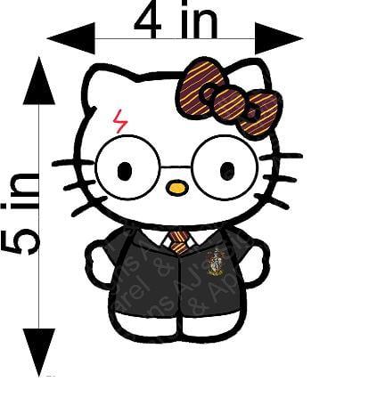 Harry Potter Hello Kitty Sticker