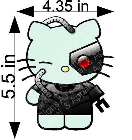 Borg Hello Kitty Sticker